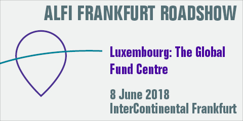 ALFI Frankfurt Roadshow, 8 June 2018